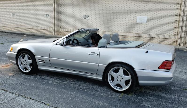 2001 sl500