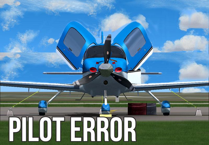 PILOT ERROR-SR22