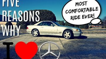 5 Reasons I Love My Mercedes Benz R129