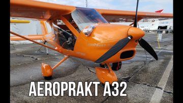 An Airplane That Flies Really SLOW l Aeroprakt A32