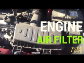 How To Replace Engine Air Filter For 2014 Chevy Spark
