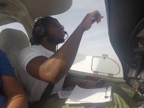 Student Pilot – First Flight to San Bernardino