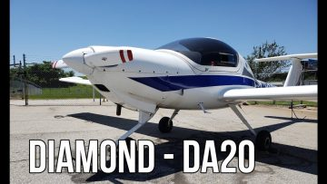 Diamond DA20. A Great Trainer For Pilots