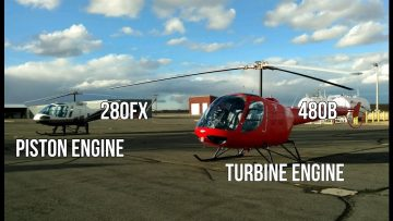 Trainer Helicopters For New Pilots. Enstrom 280FX And 480B