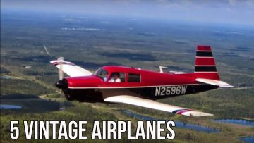 5 Vintage Airplanes EVERY Pilot Should Consider Owning
