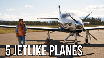 5 Turbine Powered Planes That Fly At Jet Speed