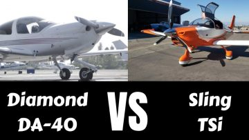Diamond DA40 Vs. Sling TSi. Which Is The Better Plane?