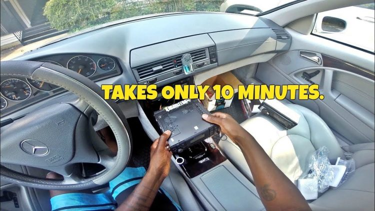 How to Install An Aftermarket Car Radio: 2001 Mercedes Benz SL500