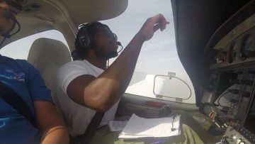 Student Pilot – First Flight to San Bernardino