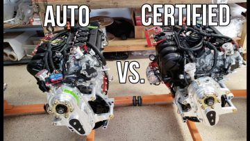 Aircraft Engines l Auto Conversions VS  Certified Engines