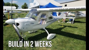 Merlin PSA Solo Airplane For Less Than $42,000