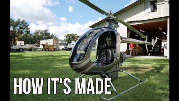 Mosquito Helicopter Factory Tour | How It's Made