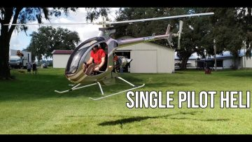 Mosquito XET Turbine Helicopter l Full Demo Flight