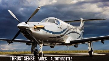 Pilatus PC-12 Autothrottle UPGRADE