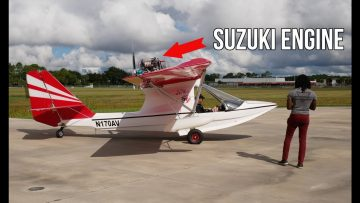Seaplane Powered By Suzuki Engine l WingBug Flight Deck l Display On iPad
