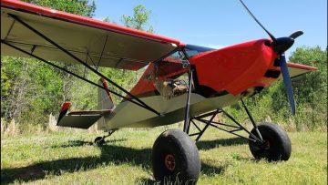 A Monster Lightsport Airplane! Justaircraft SuperSTOL LSA
