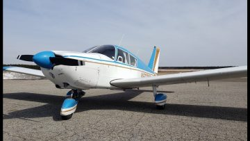 How Well Does A 50 YR Old Plane Fly? Piper Cherokee 235