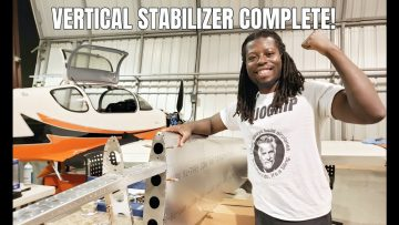 Building My new Plane: Sling TSi Vertical Stabilizer Skin Attachment