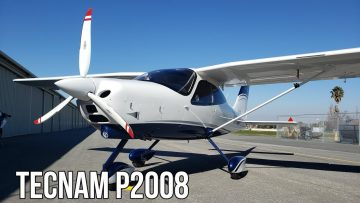 Tecnam P2008 Is One Of The Sexiest Sport Planes In The World