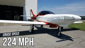 Lancair 320 Is More Fuel Efficient Than Your Car
