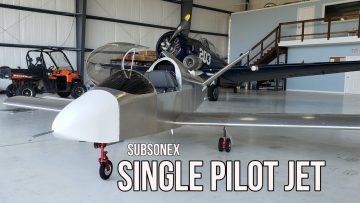 SubSonex Homebuilt Personal Jet