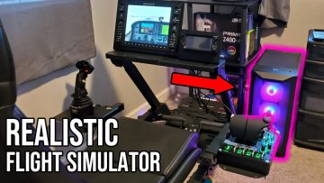 Realistic Flight Simulator