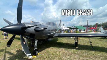 Piper M600 crash 3